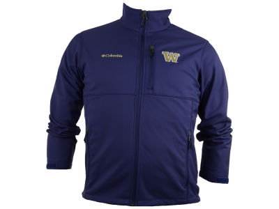 Washington Huskies Columbia NCAA Ascender Softshell Jacket
