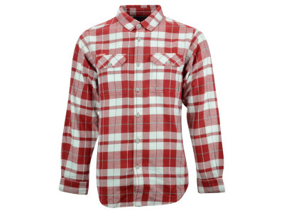 Oklahoma Sooners Columbia NCAA Men's Flare Gun Long Sleeve Flannel Button Up Shirt