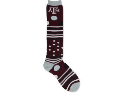 Texas A&M Aggies Dots and Stripes 538 Socks