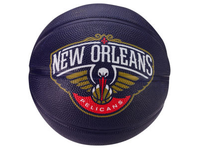 New Orleans Pelicans Primary Logo Ball Size 3 Unboxed