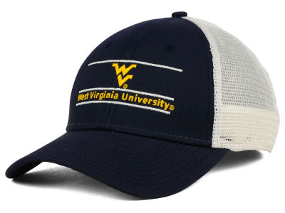 West Virginia Mountaineers NCAA Mesh Bar Cap