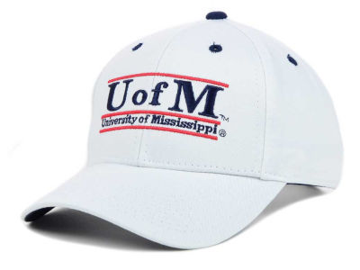 Ole Miss Rebels The Game NCAA Classic Game 3 Bar Cap
