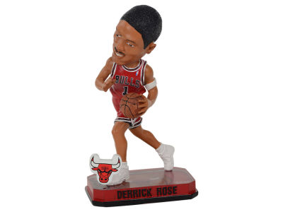 Chicago Bulls Derrick Rose Springy Logo Bobble