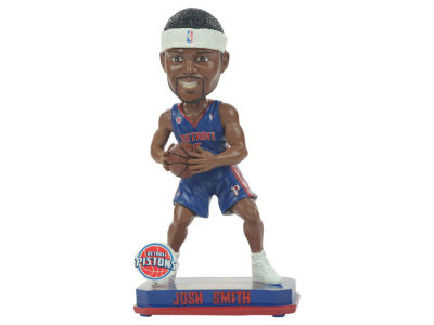 Detroit Pistons Josh Smith Springy Logo Bobble