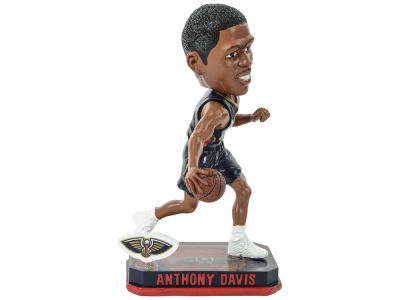 New Orleans Pelicans Anthony Davis Springy Logo Bobble