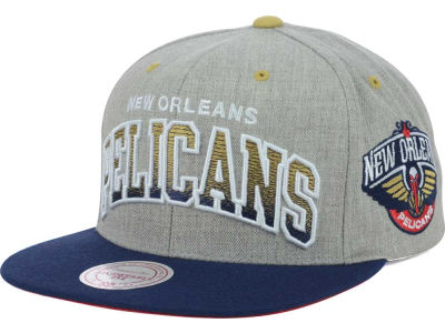 New Orleans Pelicans Mitchell and Ness NBA Heather Gradient Snapback Cap