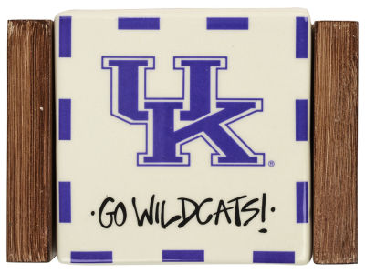 Kentucky Wildcats Ceramic Coaster Set-4 pack