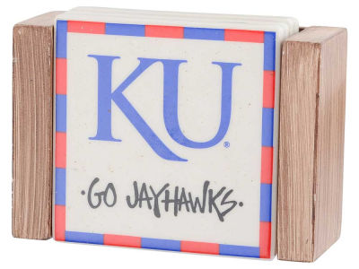 Louisville Cardinals Ceramic Coaster Set-4 pack