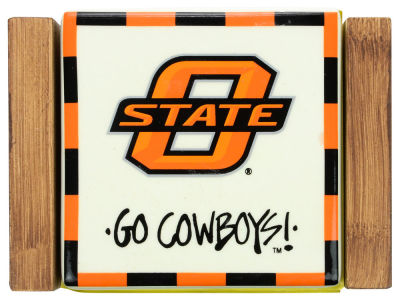 Oklahoma State Cowboys Ceramic Coaster Set-4 pack