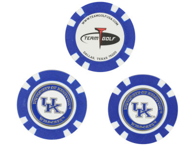 Kentucky Wildcats Golf Poker Chip Markers 3 Pack