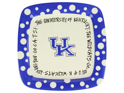 Kentucky Wildcats Square Plate