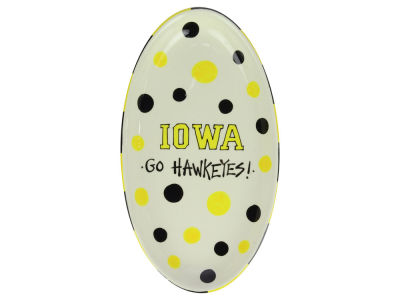 Iowa Hawkeyes Oval Platter