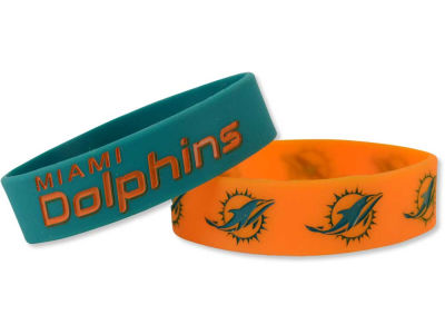 Miami Dolphins 2-pack Phat Bandz