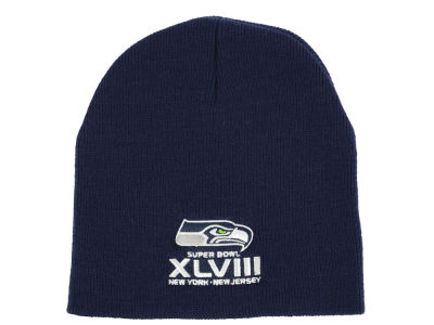 Seattle Seahawks '47 Super Bowl XLVIII NFL ID Beanie