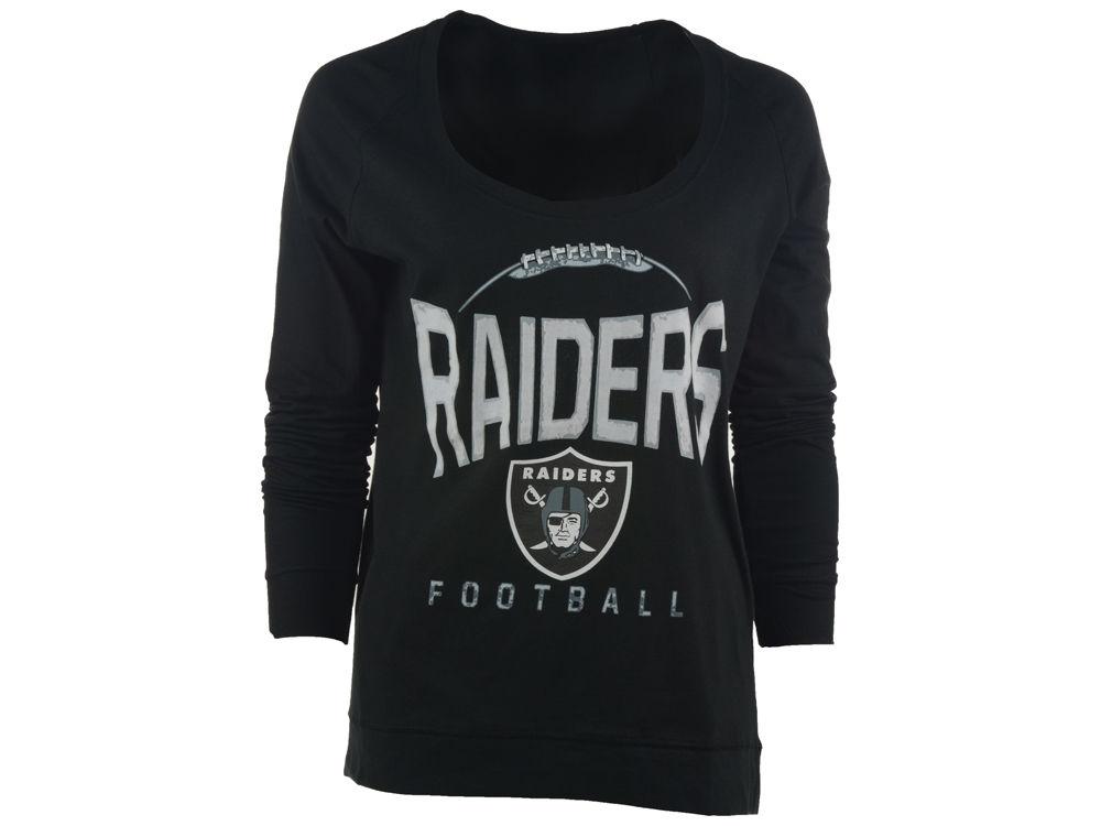 Oakland Raiders NFL Women s Football Long Sleeve T-Shirt  ab651e33d