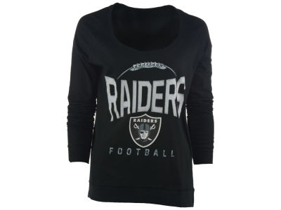 Oakland Raiders NFL Women's Football Long Sleeve T-Shirt