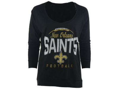 New Orleans Saints NFL Women's Football Long Sleeve T-Shirt