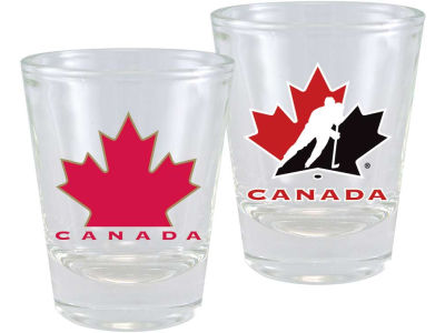 Canada Hockey 2 Ounce Collector Glass