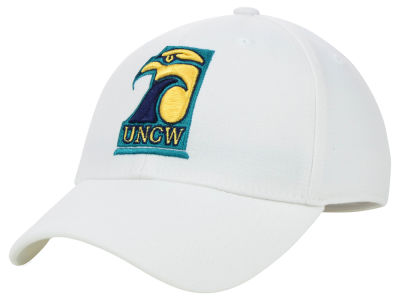 UNC Wilmington Seahawks Top of the World NCAA White PC Cap