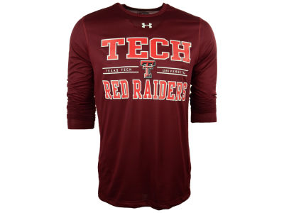 Texas Tech Red Raiders NCAA Men's Tech Long Sleeve T-Shirt