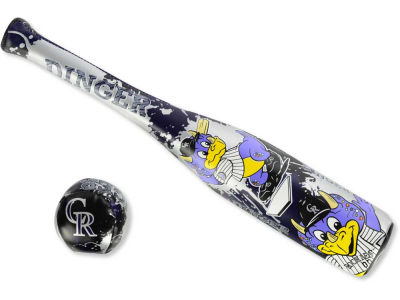 Colorado Rockies Mini Bat And Ball Set