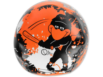 Baltimore Orioles Softee Quick Toss Baseball 4inch