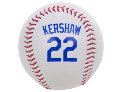 Los Angeles Dodgers Clayton Kershaw The Original Team Logo Baseball