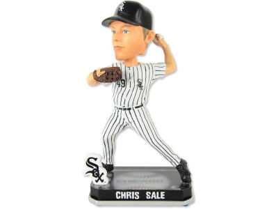 Chicago White Sox Chris Sale Springy Logo Bobble