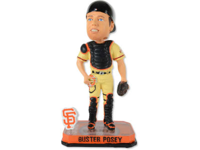 San Francisco Giants Buster Posey Springy Logo Bobble