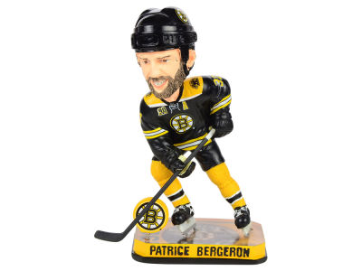 Boston Bruins Patrice Bergeron Springy Logo Bobble