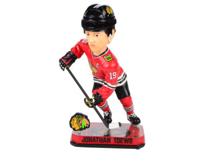 Chicago Blackhawks Jonathan Towes Springy Logo Bobble