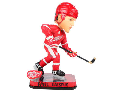 Detroit Red Wings Pavel Datsyuk Springy Logo Bobble