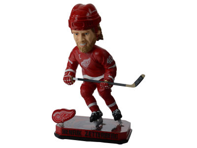 Detroit Red Wings Henrik Zetterberg Springy Logo Bobble