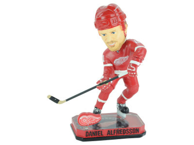 Detroit Red Wings Daniel Alfredsson Springy Logo Bobble