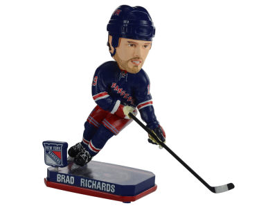 New York Rangers Brad Richards Springy Logo Bobble