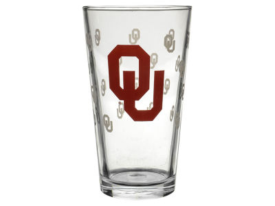 Oklahoma Sooners 16oz Color Changing Pint Glass