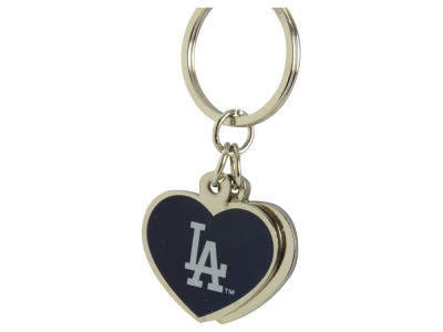 Los Angeles Dodgers Love 2 Charm Keychain