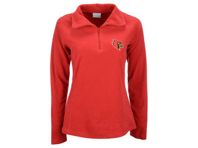 Louisville Cardinals Columbia NCAA Women's Glacial Half Zip II Jacket