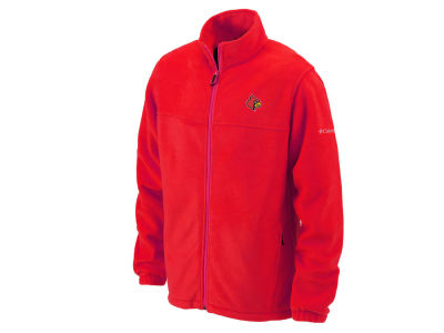 Louisville Cardinals Columbia NCAA Flanker Full Zip Fleece
