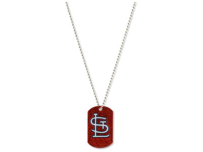 St. Louis Cardinals Aminco Glitter Dog Tag