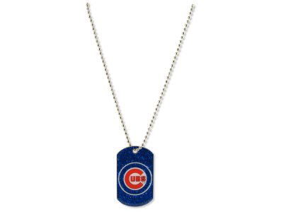 Chicago Cubs Glitter Dog Tag