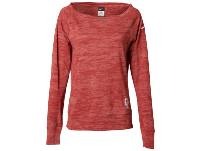 Oklahoma Sooners Nike NCAA Women's Warm Epic Crew Neck Shirt