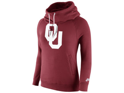 Oklahoma Sooners Nike NCAA Womens Rally Funnel Hoodie