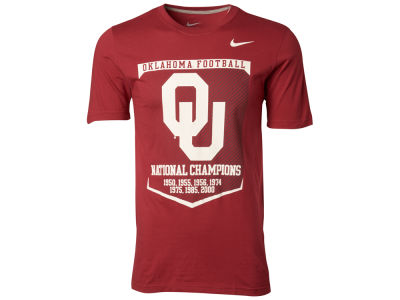 Oklahoma Sooners Nike NCAA Local Attribute T-Shirt