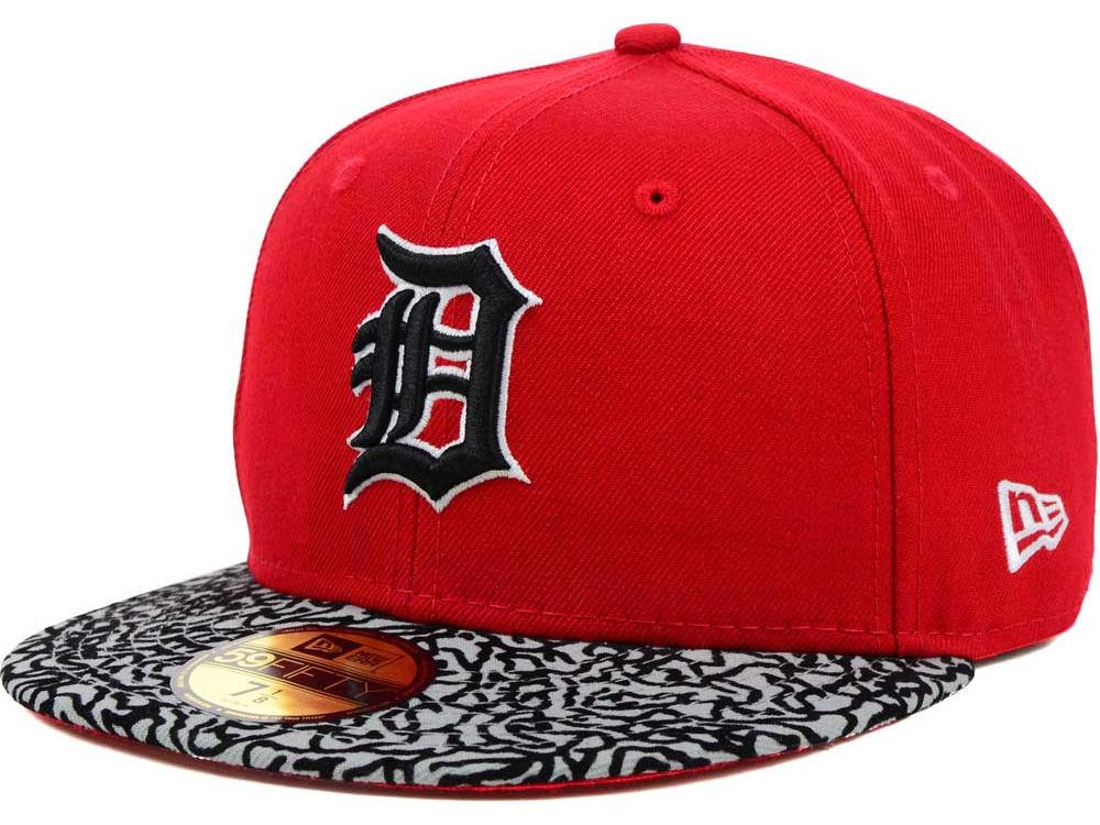 huge discount 88592 30089 Detroit Tigers New Era MLB E-Print 59FIFTY Cap   lids.com