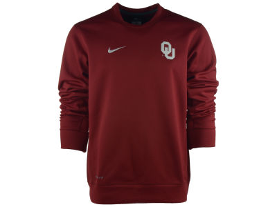 Oklahoma Sooners Nike NCAA KO Chain Fleece Crewneck Sweatshirt
