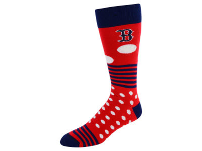Boston Red Sox Dots and Stripes Sock