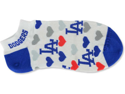 Los Angeles Dodgers Lady Heart Logo Repeat Sock