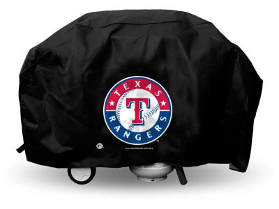 Texas Rangers Deluxe Grill Cover