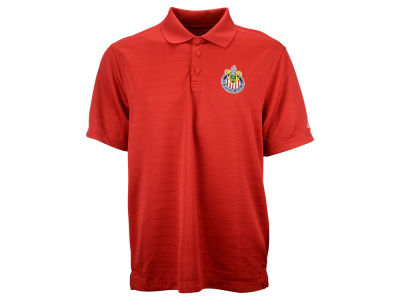Chivas USA adidas MLS Men's Ribbed Polo Shirt